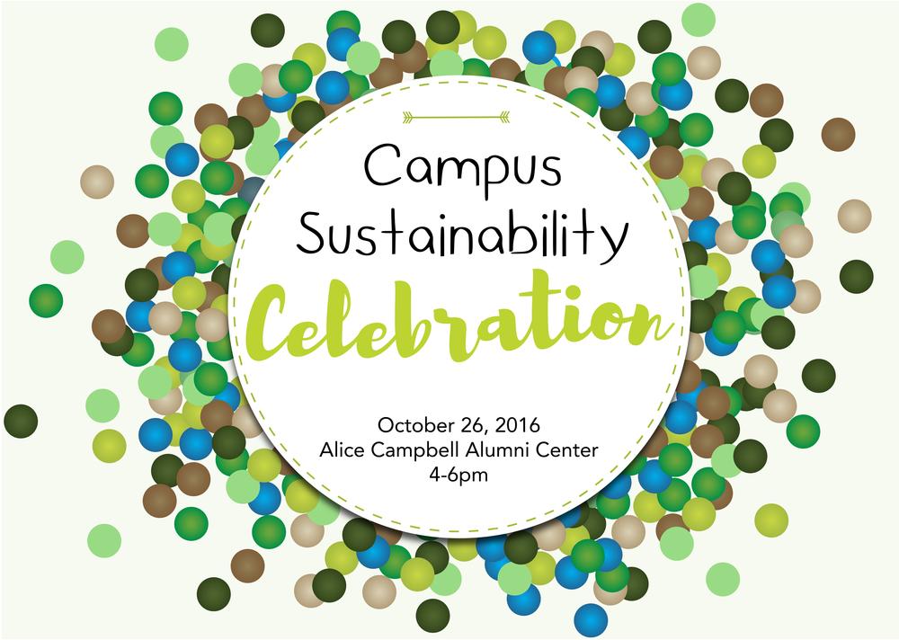campus sustainabiity celebration logo