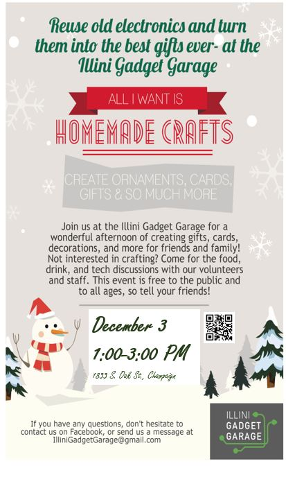 craft event flyer