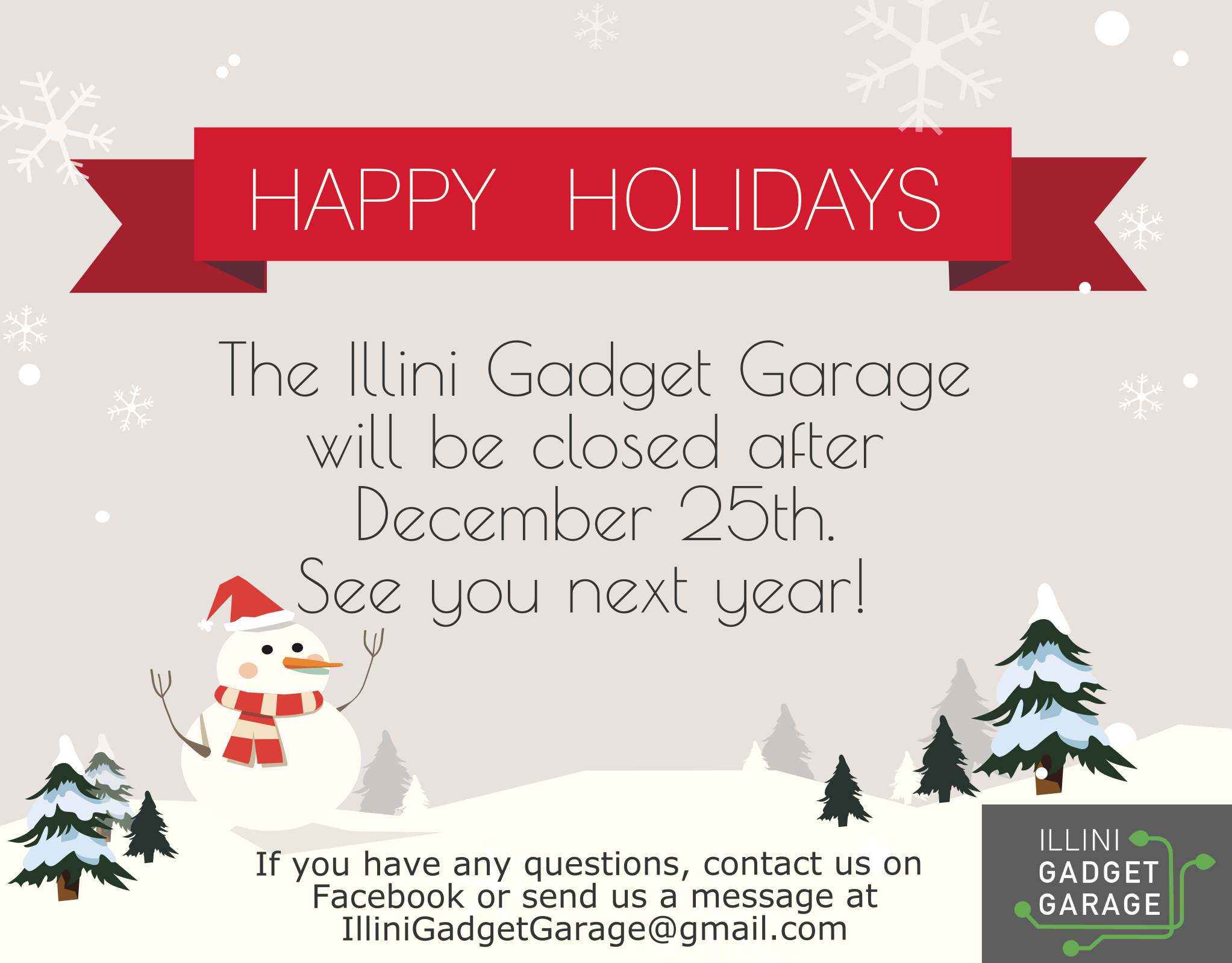 Happy Holidays and a Happy New Year! – Illini Gadget Garage